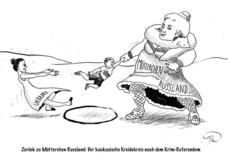 Krim | maryleonie.de - Karikaturen